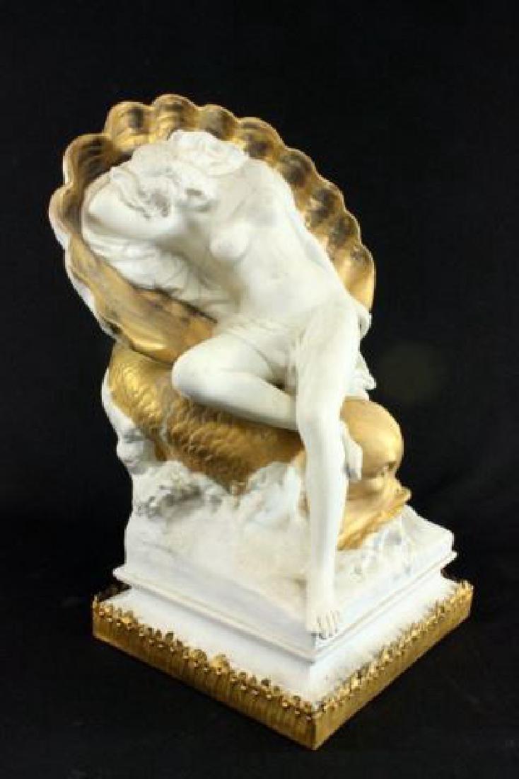 :Unglazed French Porcelain Sculpture - 2