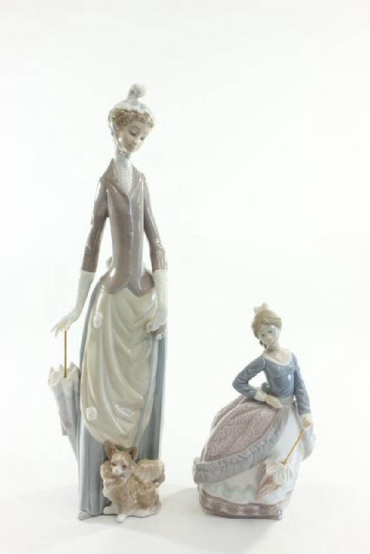 2 Lladro Figures