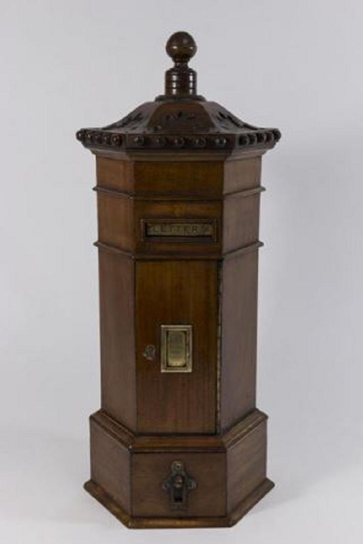 :Wooden Post Box