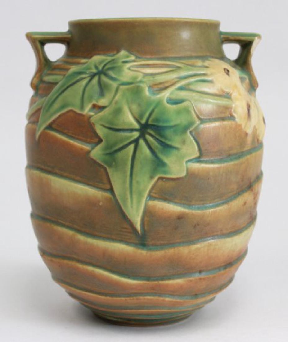 Roseville Luffa Vase