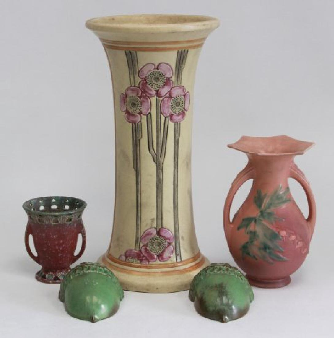 Lot of Vases & Wall Pockets