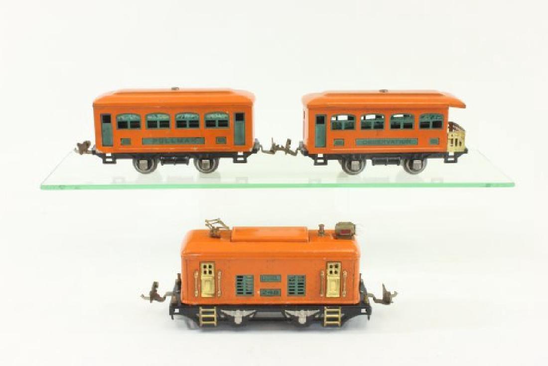 Set Lionel Orange