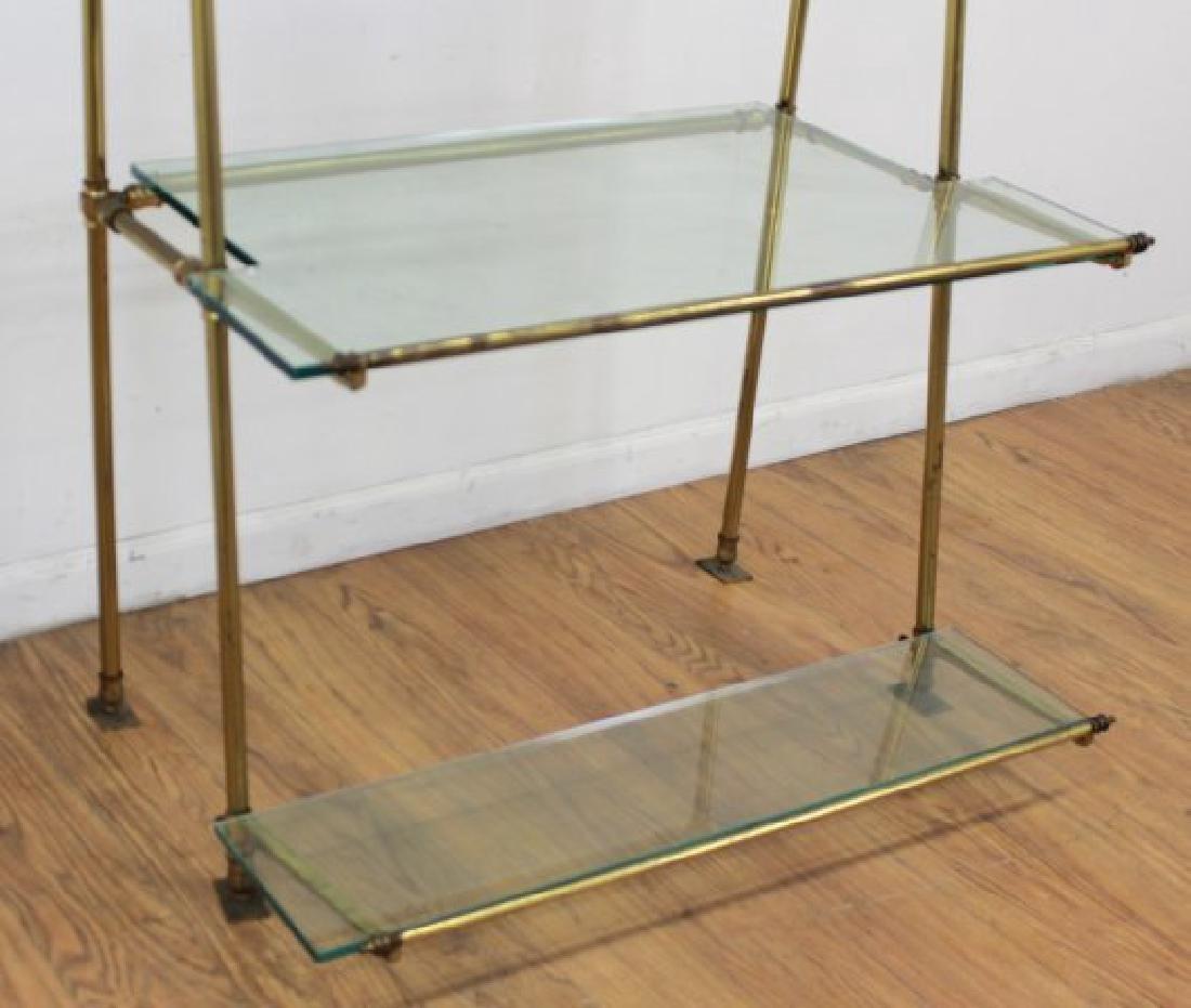 Brass & Glass Etagere - 3