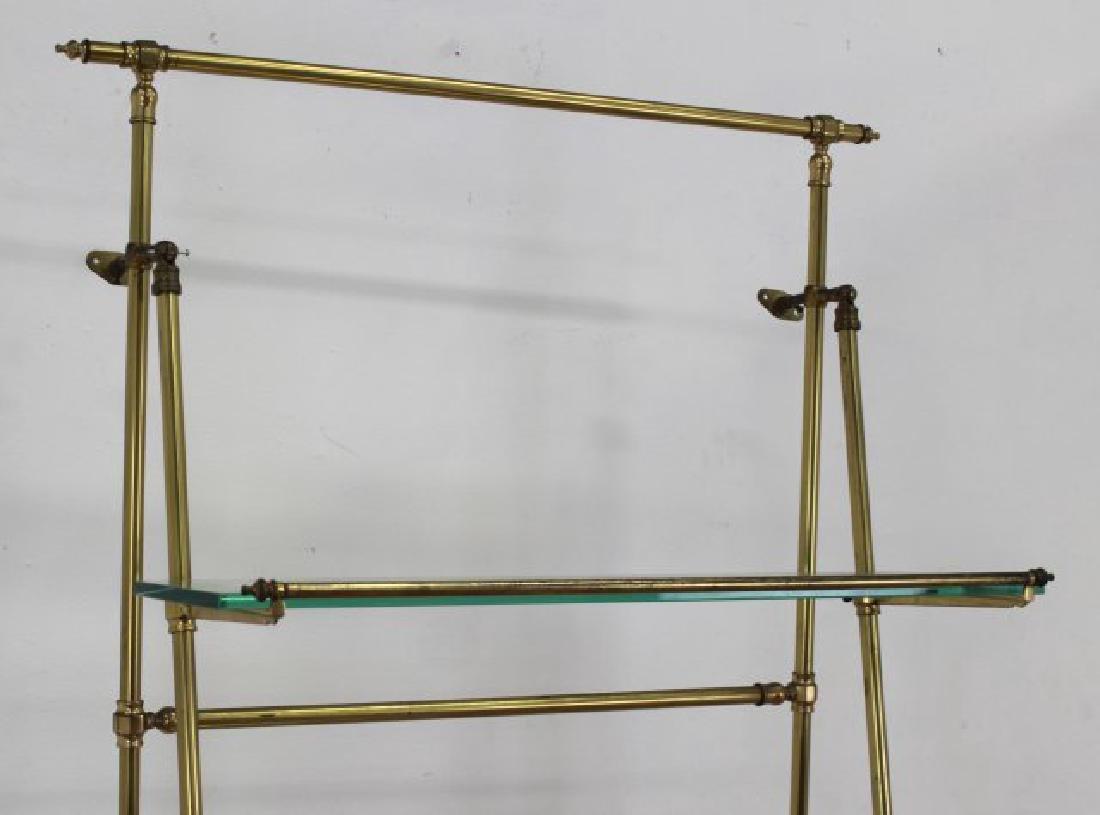 Brass & Glass Etagere - 4