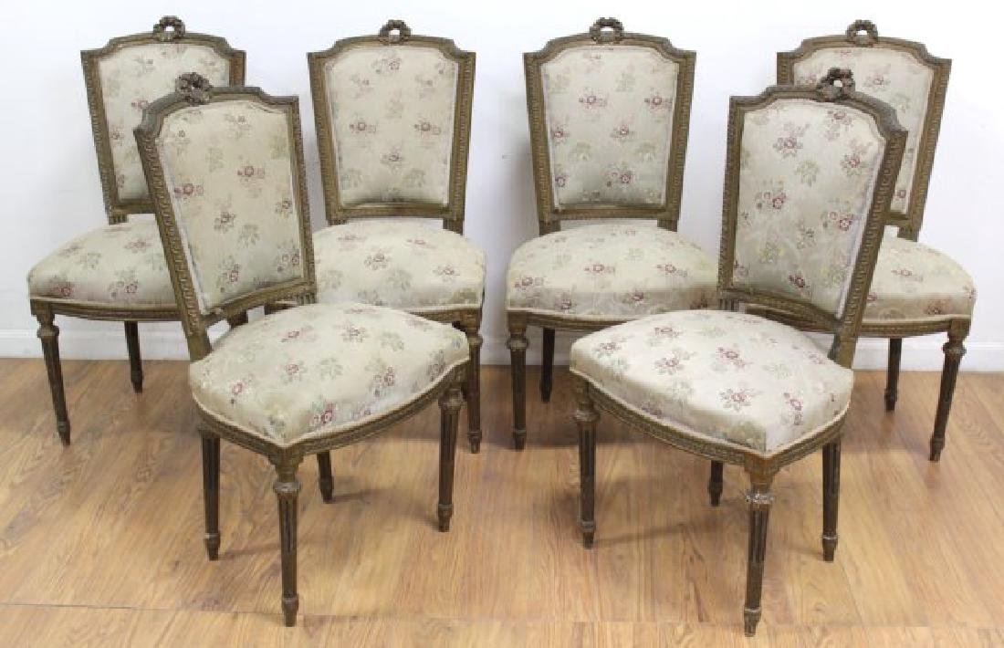 :6 French Chairs