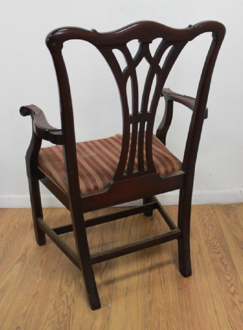 Set 6 Mahogany Chippendale Chairs - 4
