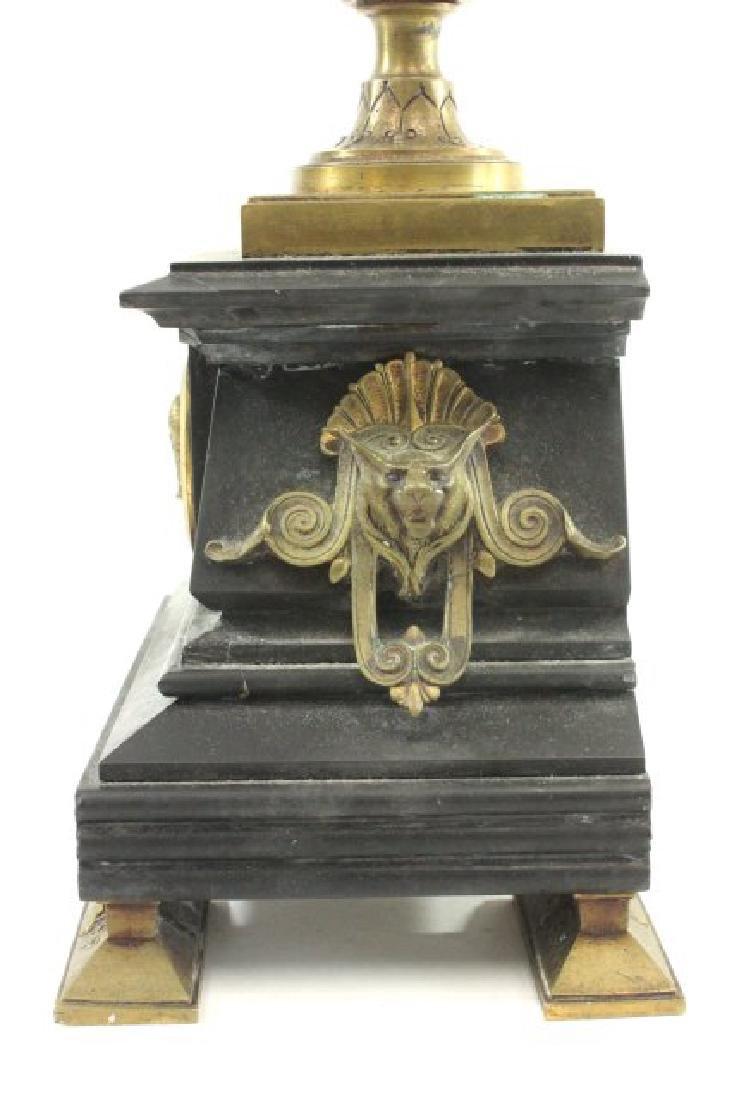 Bronze & Marble 5-Light Candelabra - 6
