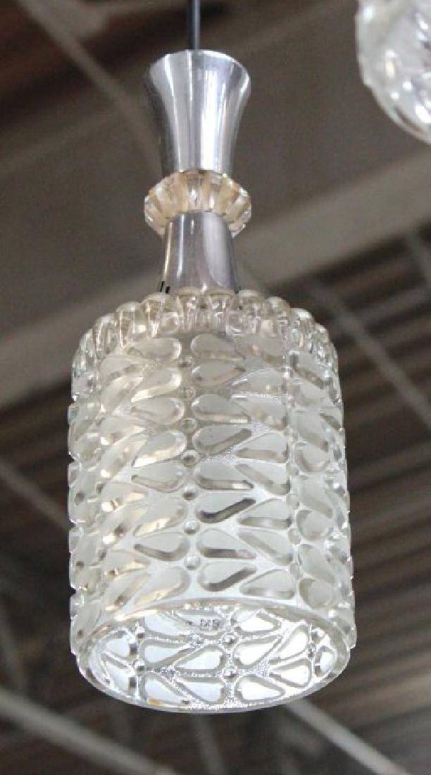 Mid-Century Modern 5 Drop Lights Chandelier - 2