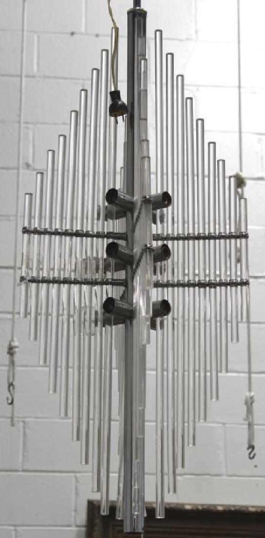 Mid-Century Modern Lucite Chandelier