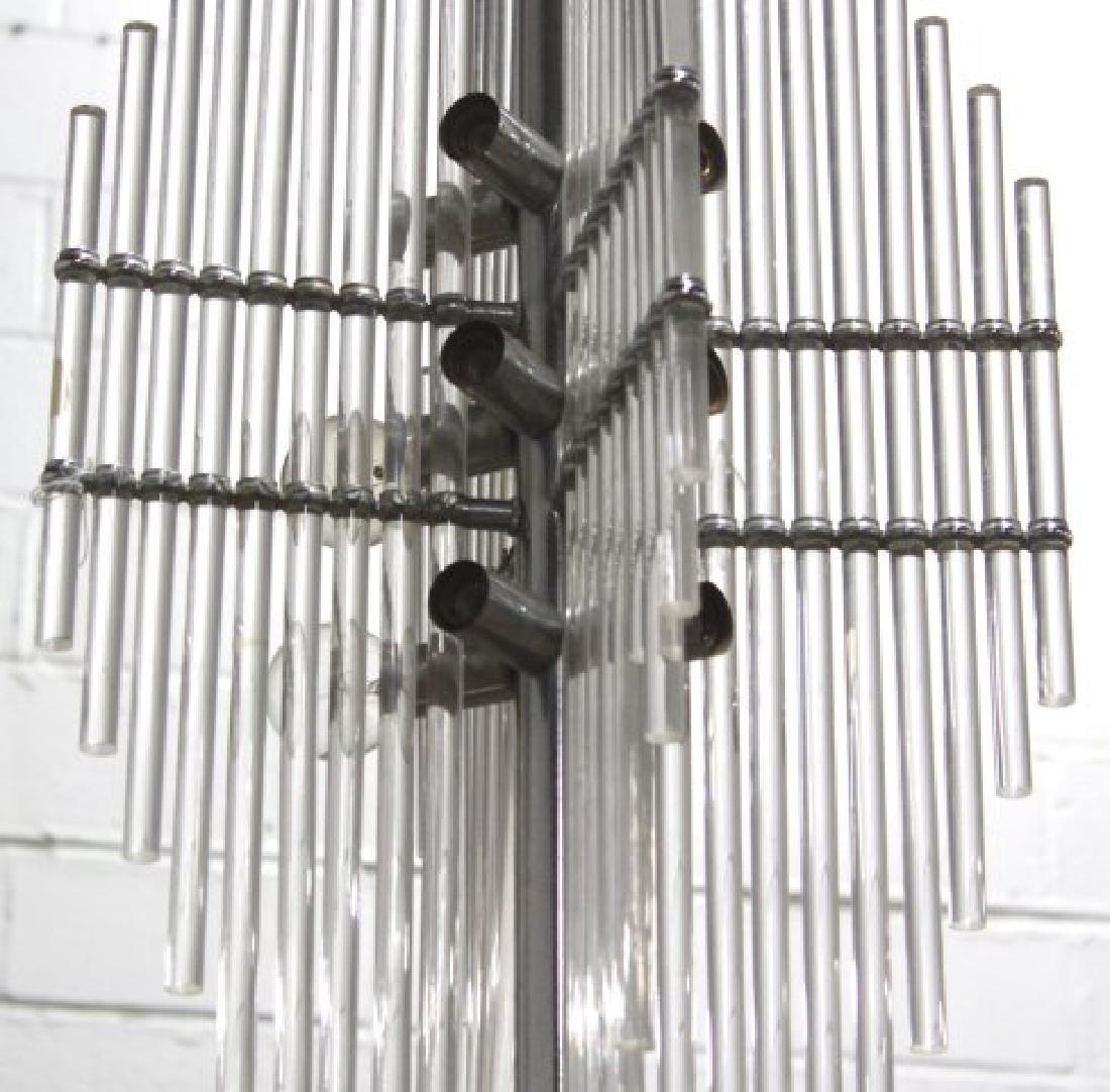 Mid-Century Modern Lucite Chandelier - 2
