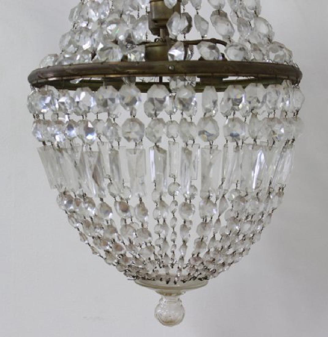 Neoclassic Style Basket Chandelier - 2