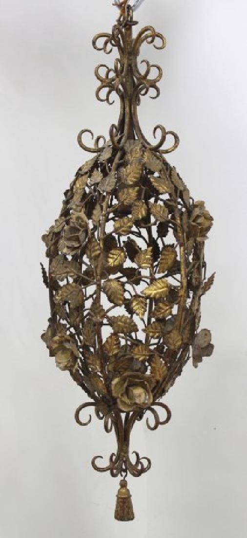 Pair Italian Rococo Style & Foliate Lanterns - 3