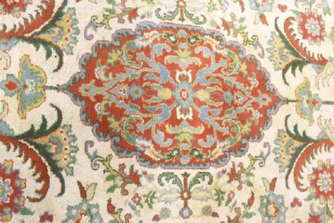 Tan Indo-Persian Handmade Rug/Carpet - 2