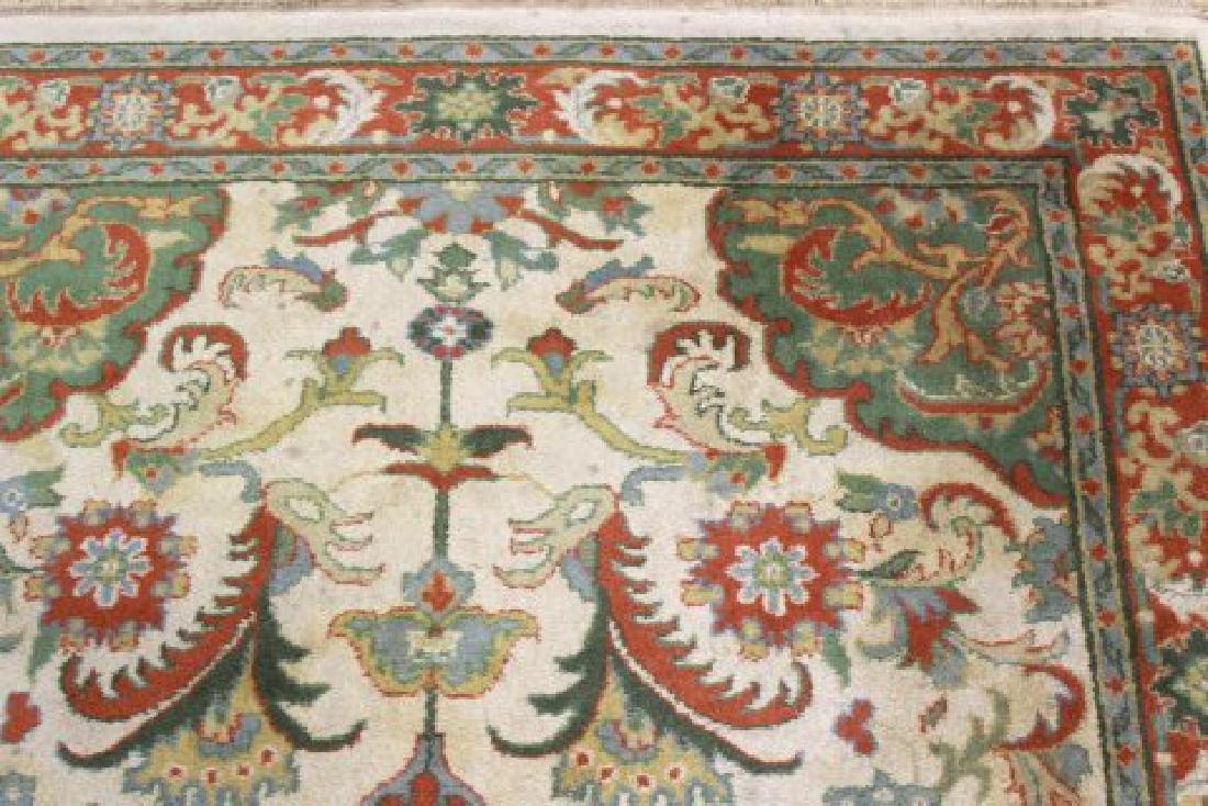 Tan Indo-Persian Handmade Rug/Carpet - 3