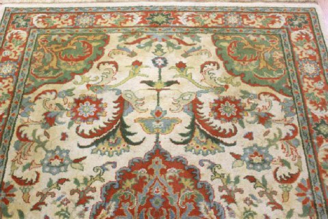 Tan Indo-Persian Handmade Rug/Carpet - 4
