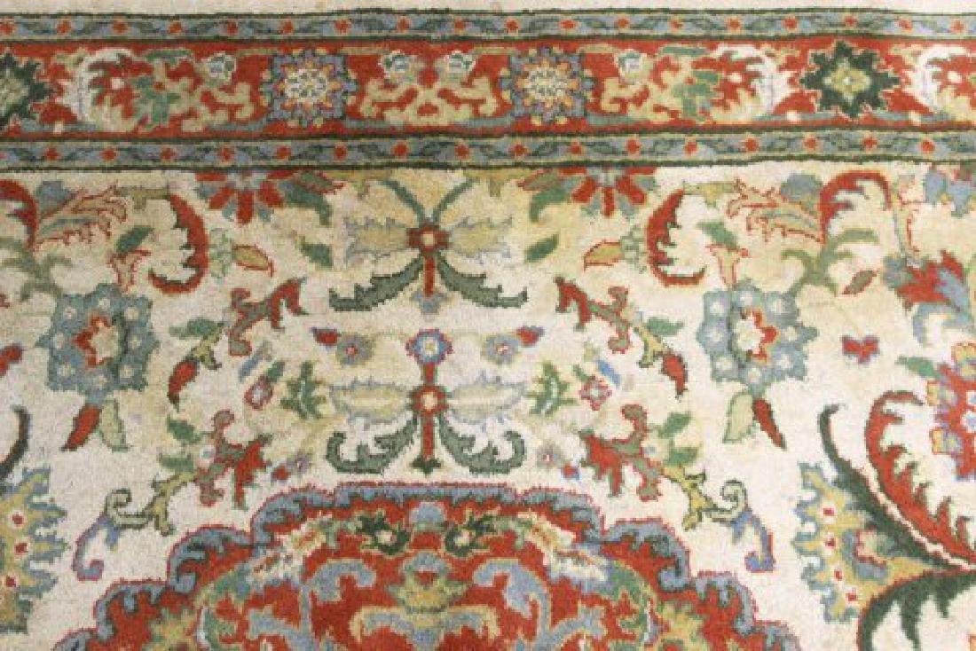 Tan Indo-Persian Handmade Rug/Carpet - 5