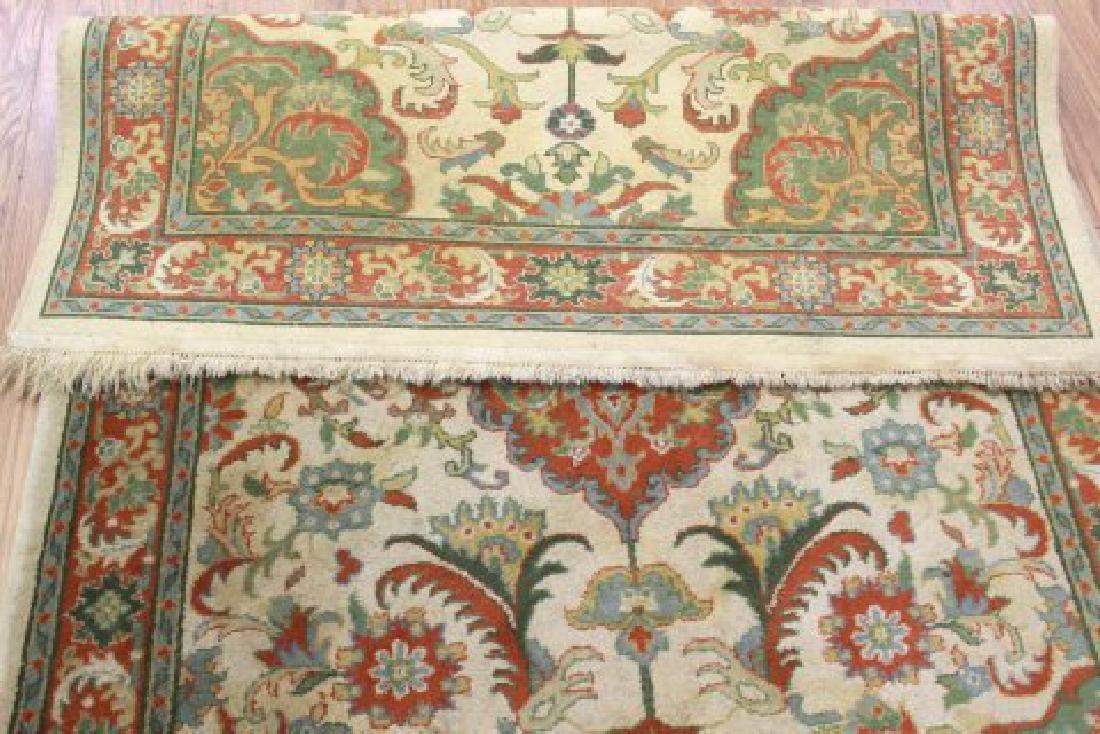 Tan Indo-Persian Handmade Rug/Carpet - 6