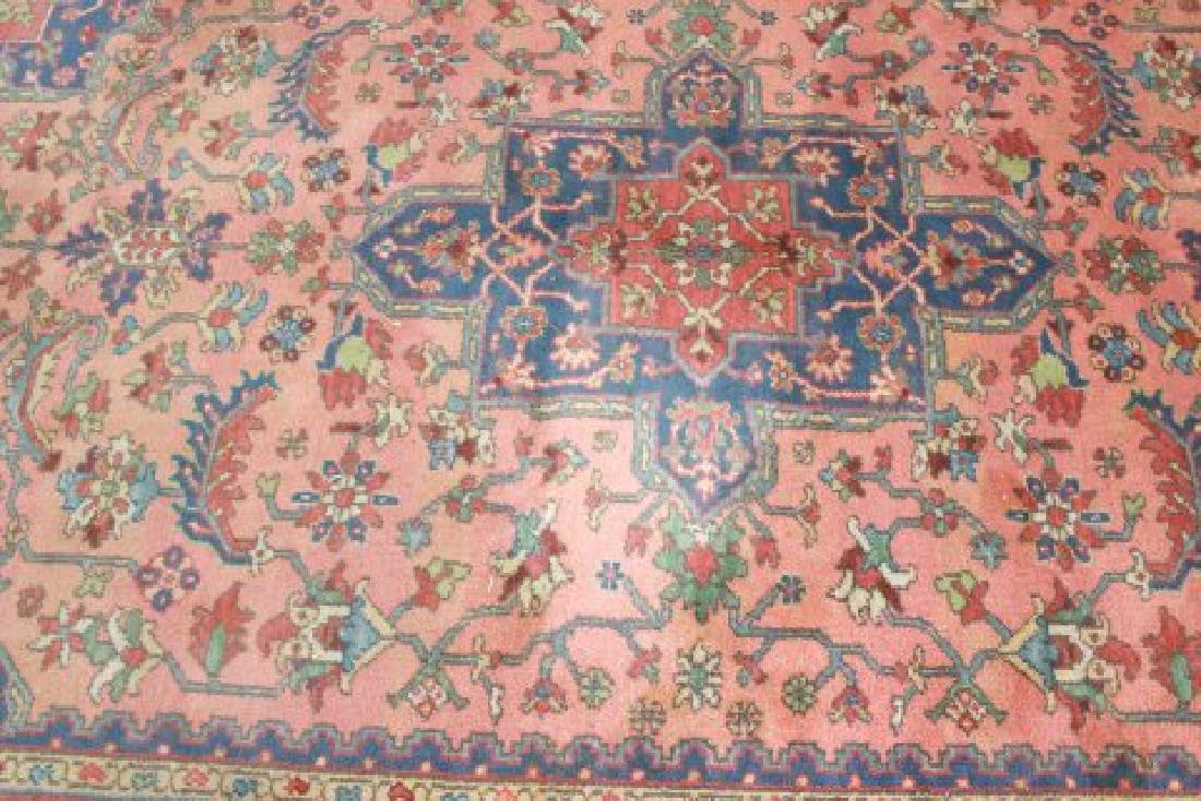 Red Heriz Machine Made Rug/Carpet - 2