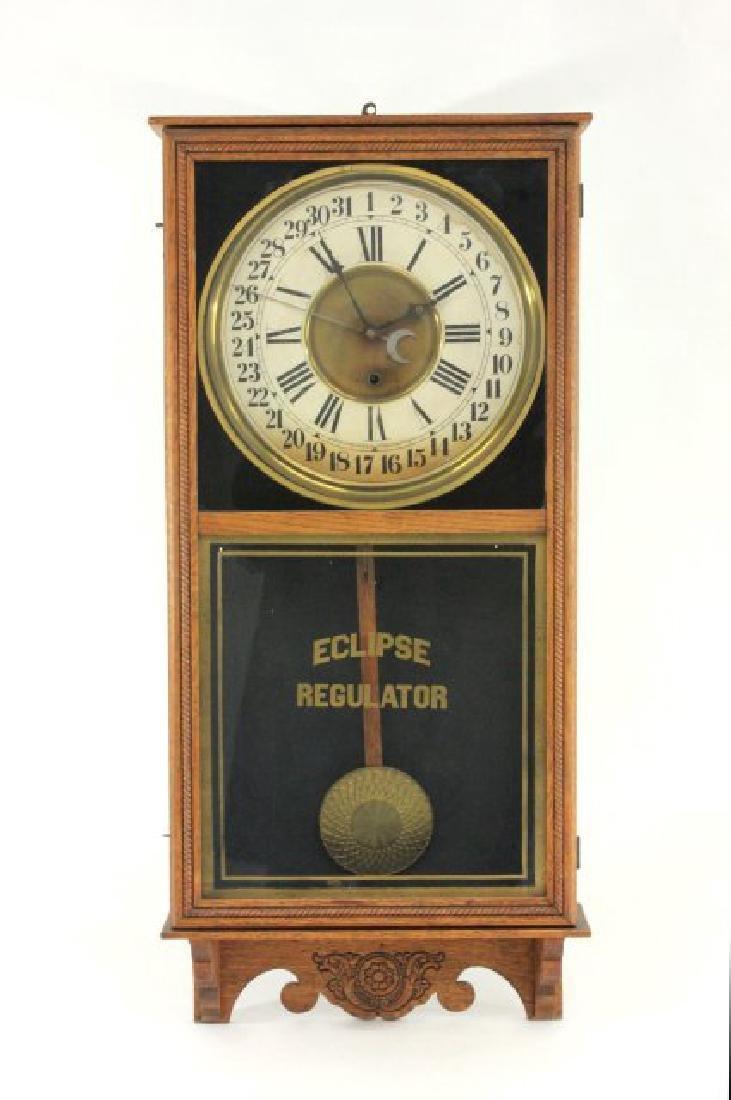 Eclipse Regulator Calendar Clock