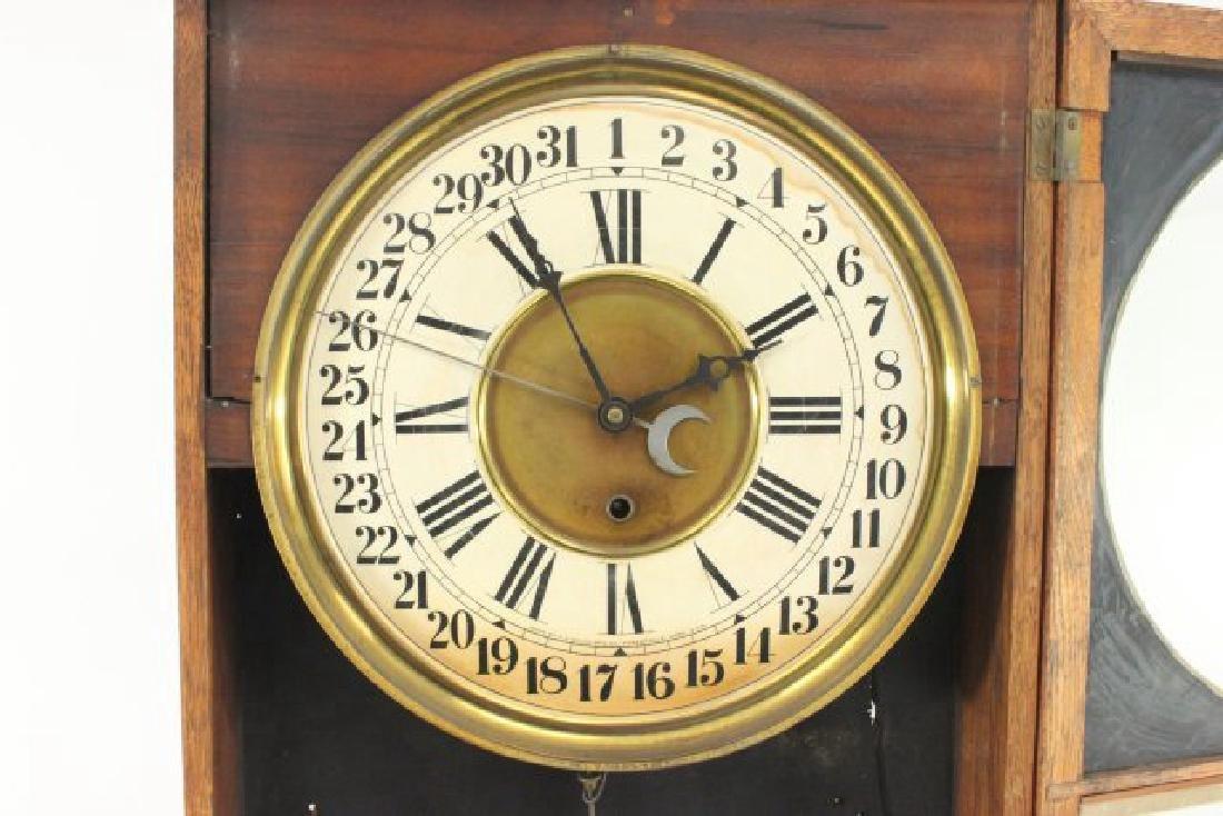 Eclipse Regulator Calendar Clock - 2