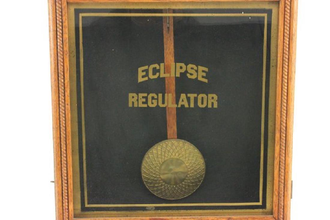 Eclipse Regulator Calendar Clock - 4