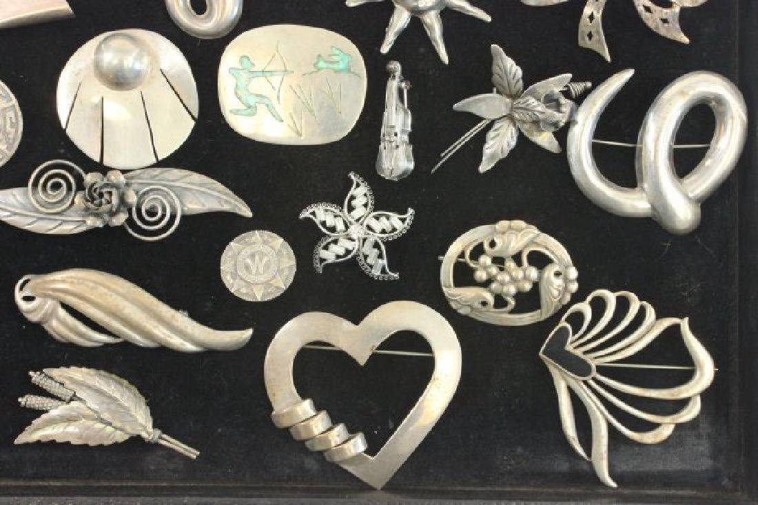 Tray Vintage Sterling Silver Jewelry - 4