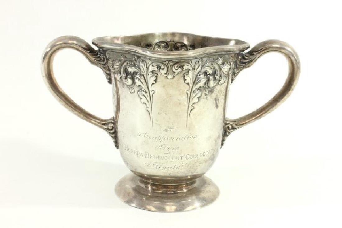 Judaica Sterling Silver Washing Cup