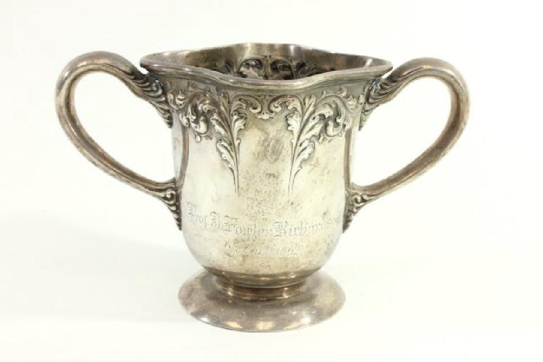 Judaica Sterling Silver Washing Cup - 2