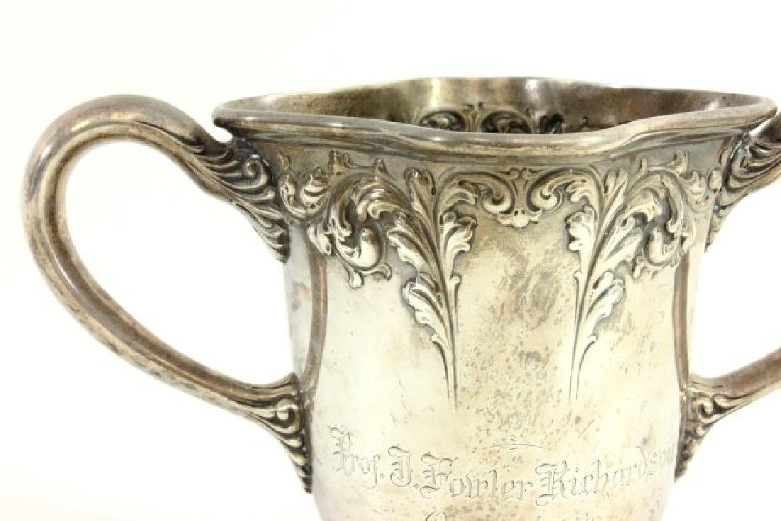 Judaica Sterling Silver Washing Cup - 3