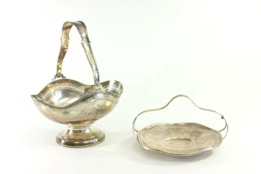 2 Sterling Silver Baskets