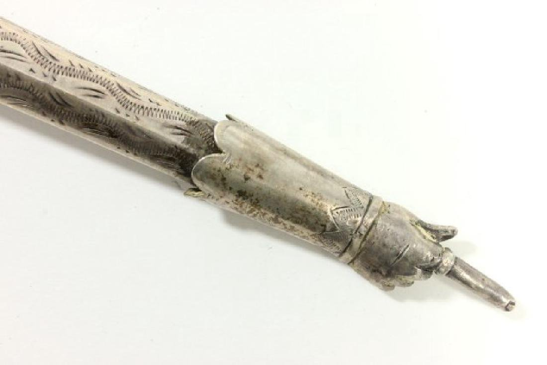 Early Silver Torah Pointer - 3