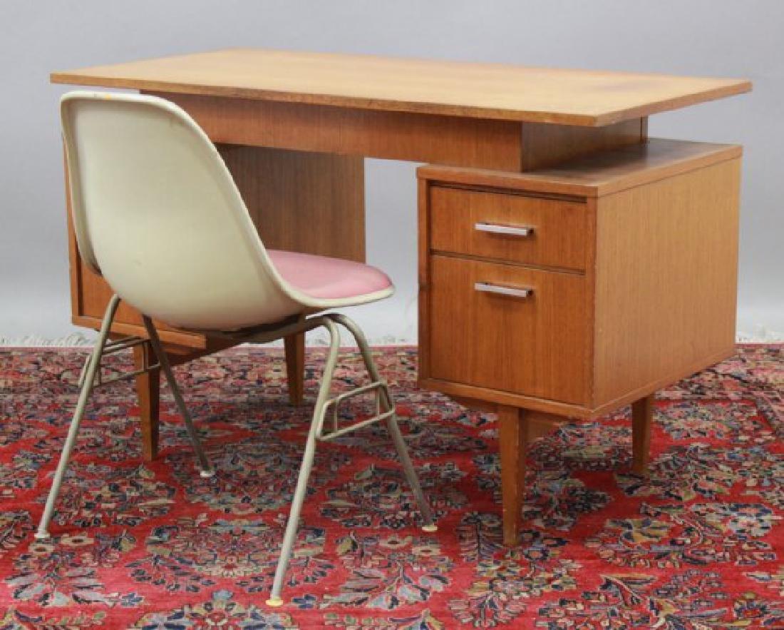 Mid-Century Herman Miller Chair & Scandinavian Desk