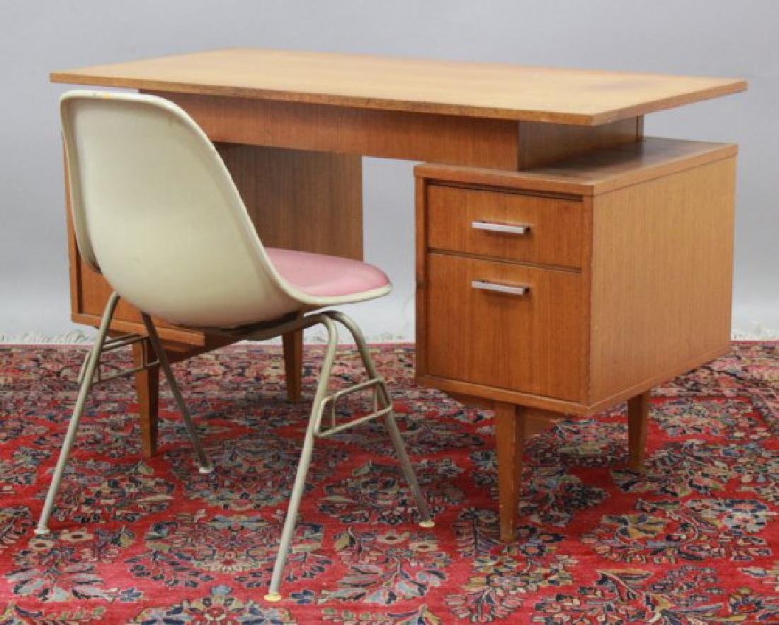 Mid-Century Herman Miller Chair & Scandinavian Desk