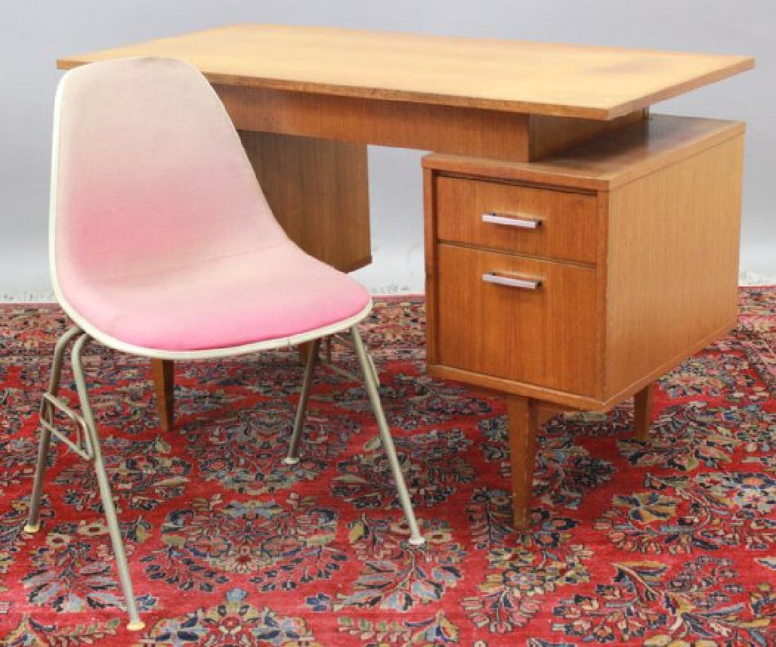 Mid-Century Herman Miller Chair & Scandinavian Desk - 2