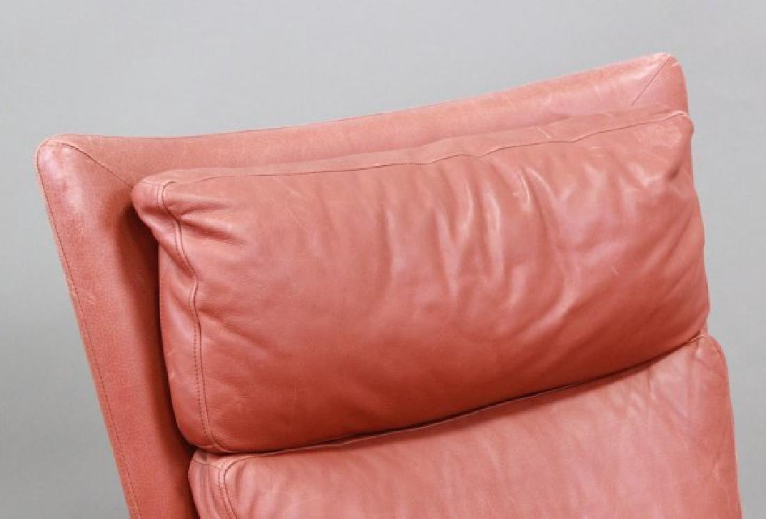 Mid-Century Modern Leather Armchair - 3