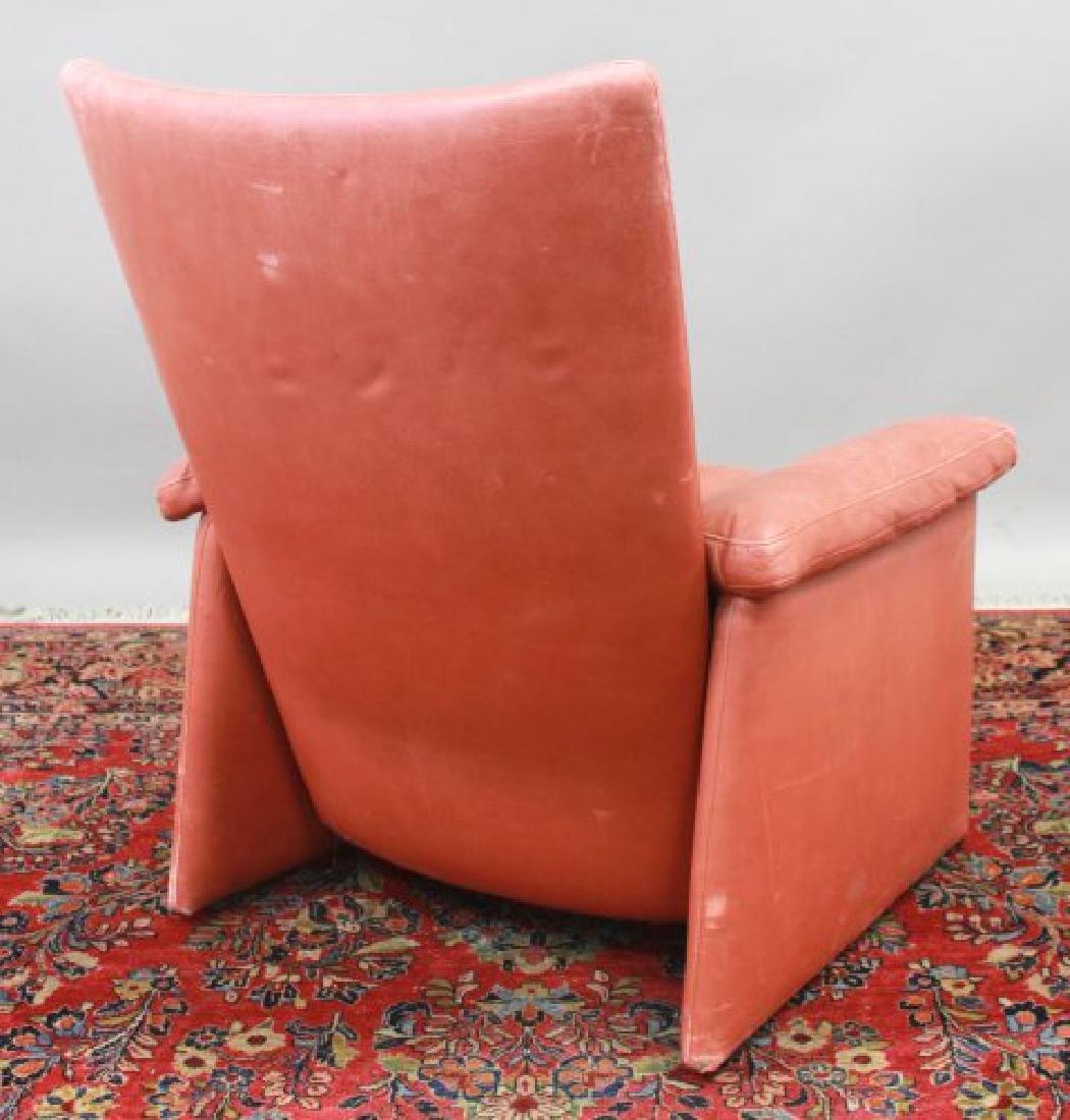 Mid-Century Modern Leather Armchair - 5