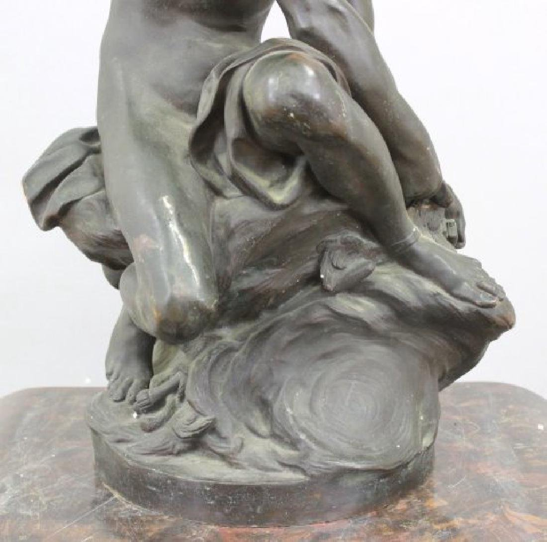 :19th Century Bronze Sculpture of Mercury - 4