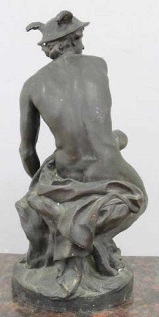 :19th Century Bronze Sculpture of Mercury - 5