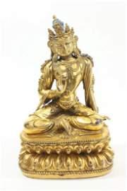 Bronze Gilded Buddha