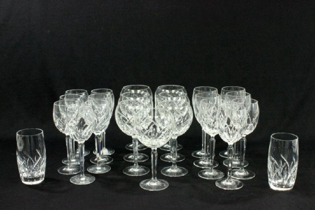 23 Pieces Waterford Lucerne Pattern Crystal