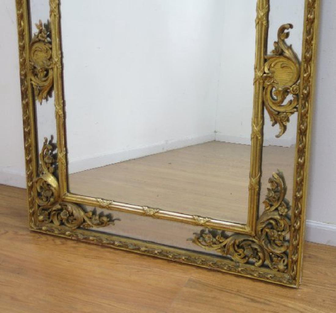 :Regency Carved Giltwood Mirror - 3
