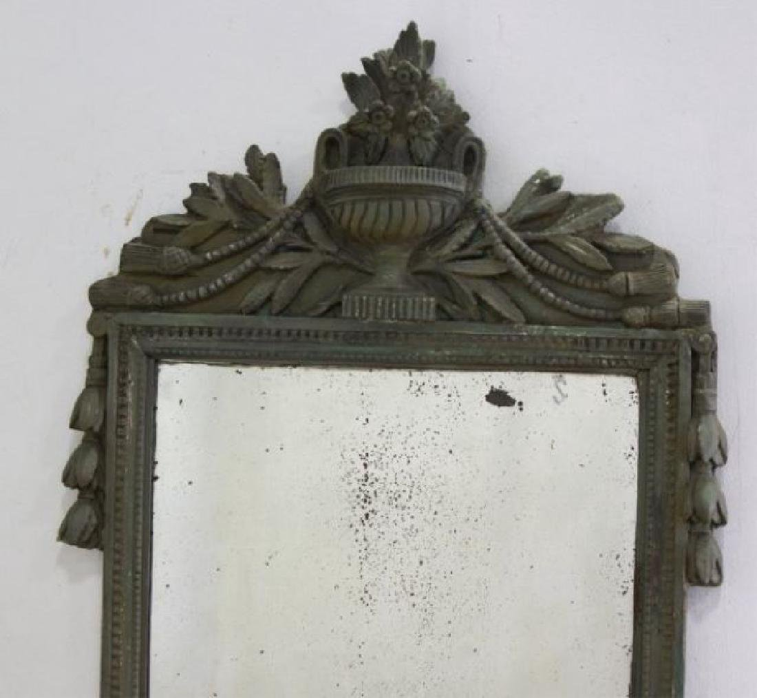 :Late 18th Century Carved Wood & Gesso Mirror - 2