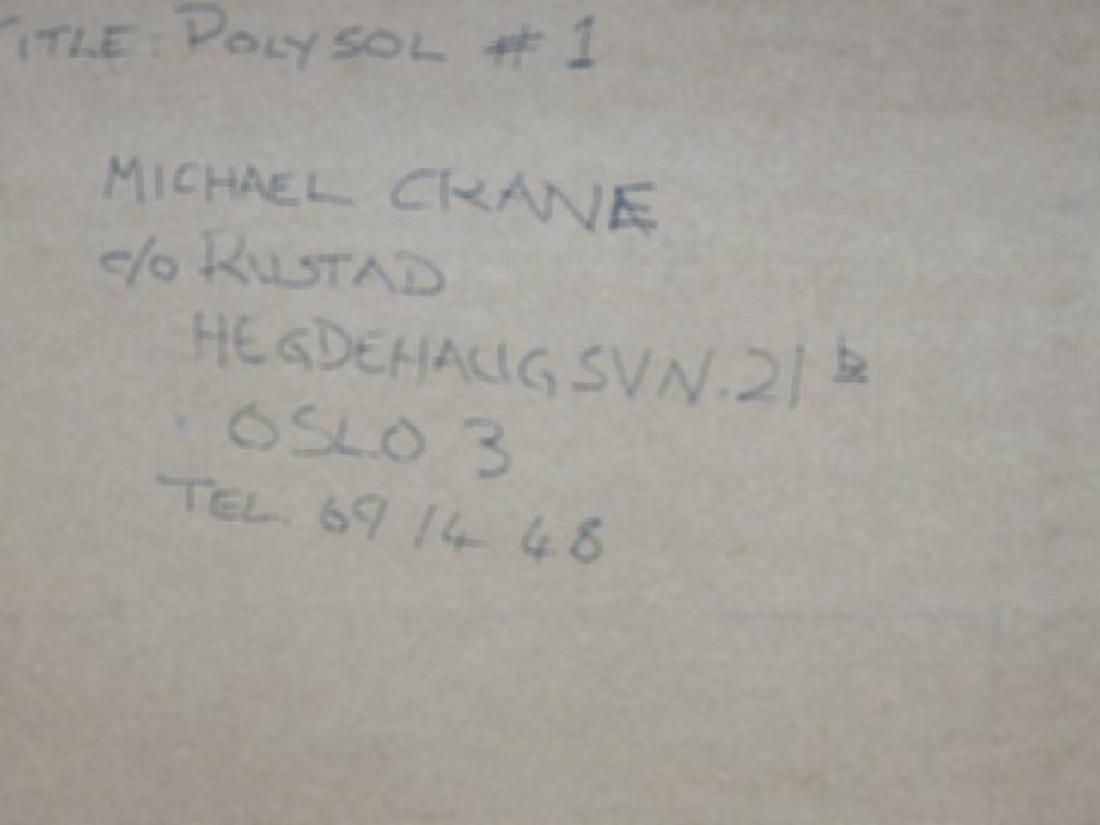"Michael Crane, ""Polysol #1"" - 3"