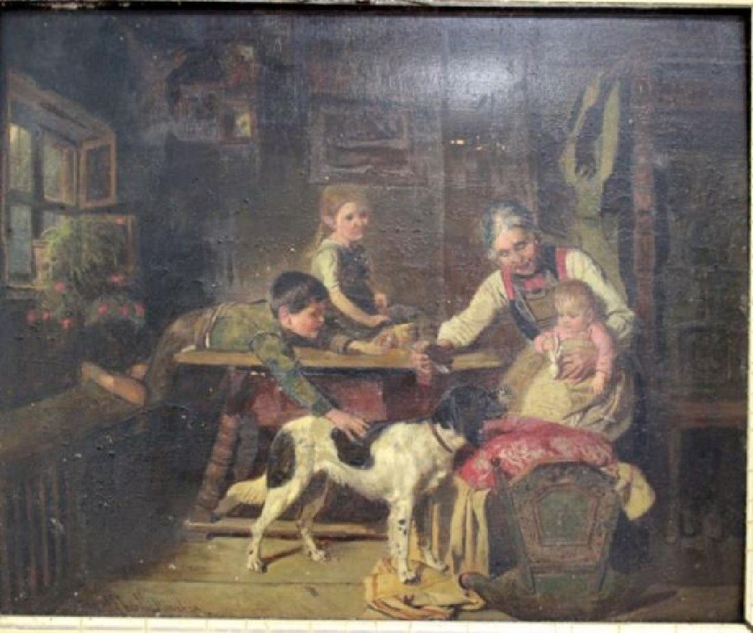 :Adolf Eberle, Interior Scene