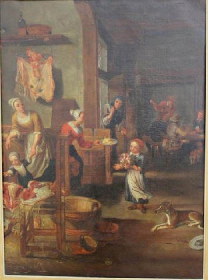 :After Teniers, Tavern Scene