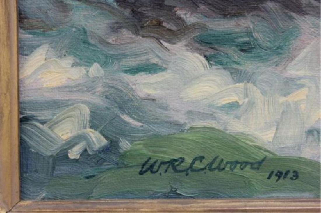 ":Wm. Reuben Clark Wood, ""Rocky Coast Line"" - 3"