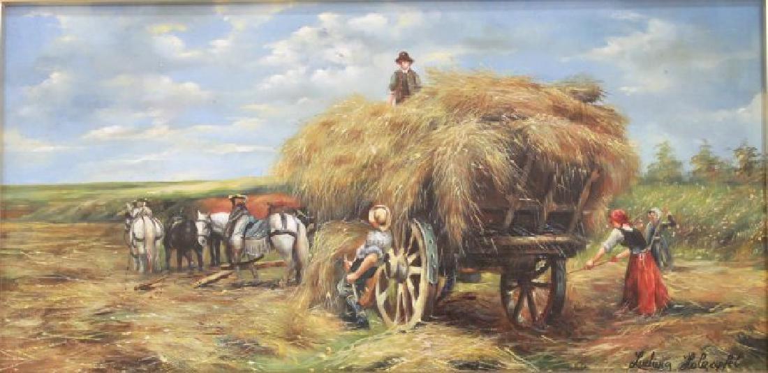 Ludwig Holzapfel, Haystack