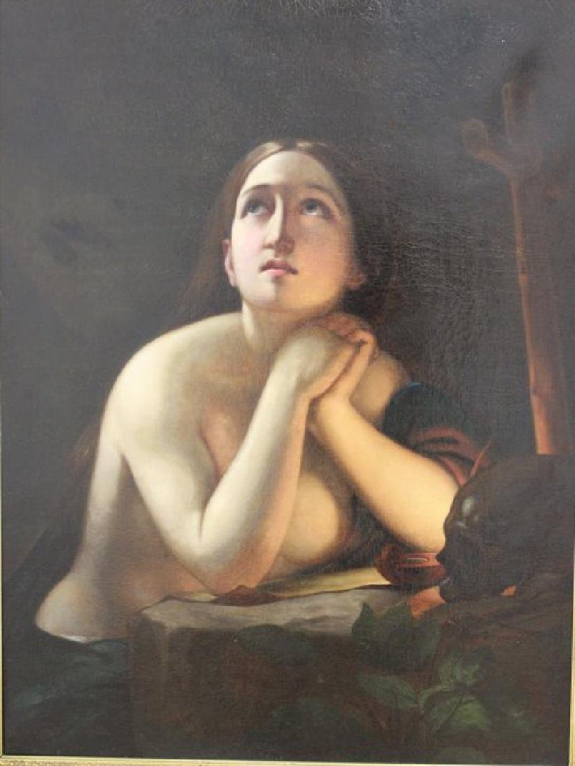 19th Century Painting of Maria Magdalena
