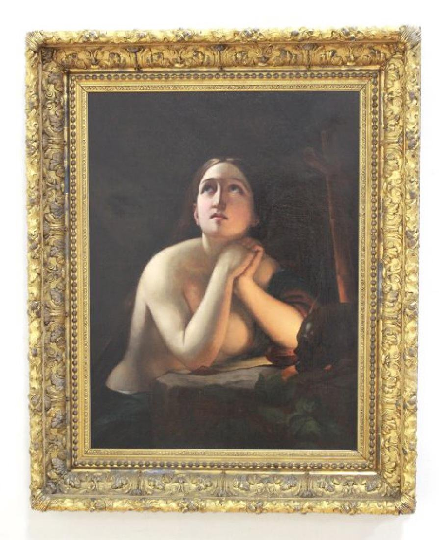 19th Century Painting of Maria Magdalena - 2