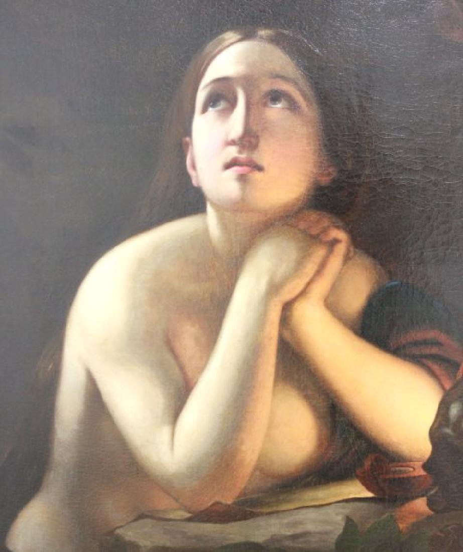 19th Century Painting of Maria Magdalena - 3
